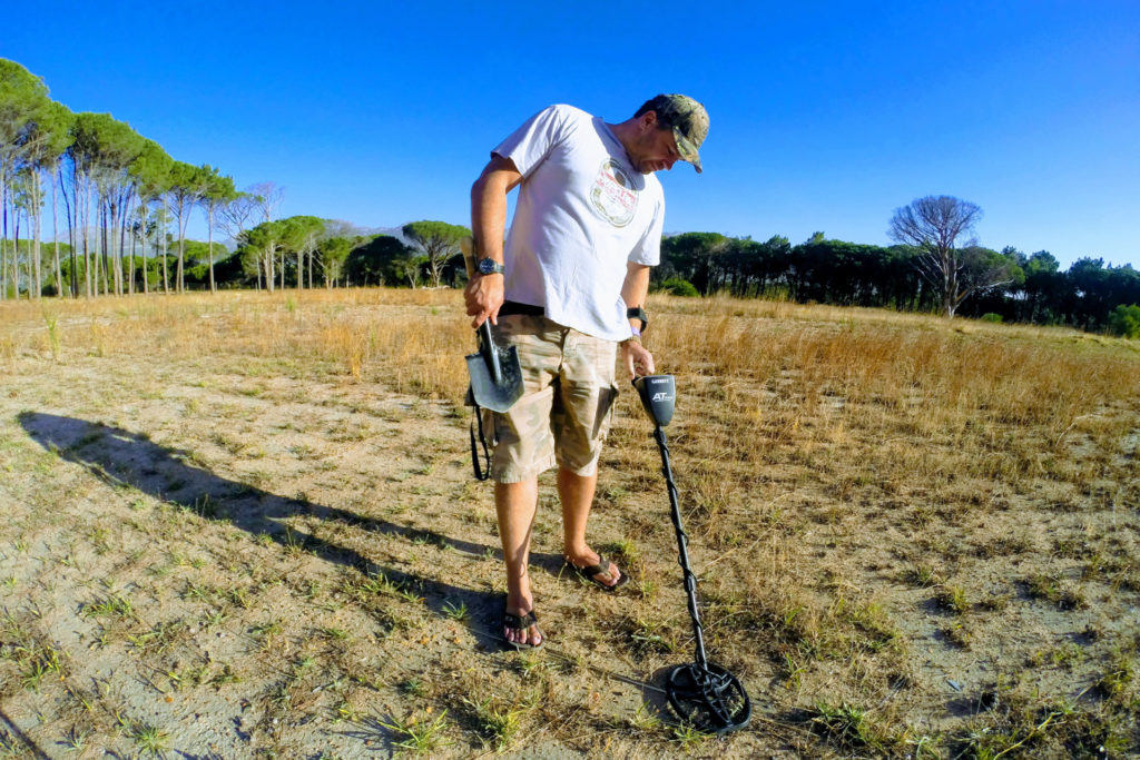 Metal Detecting in South Africa is a fast growing hobby